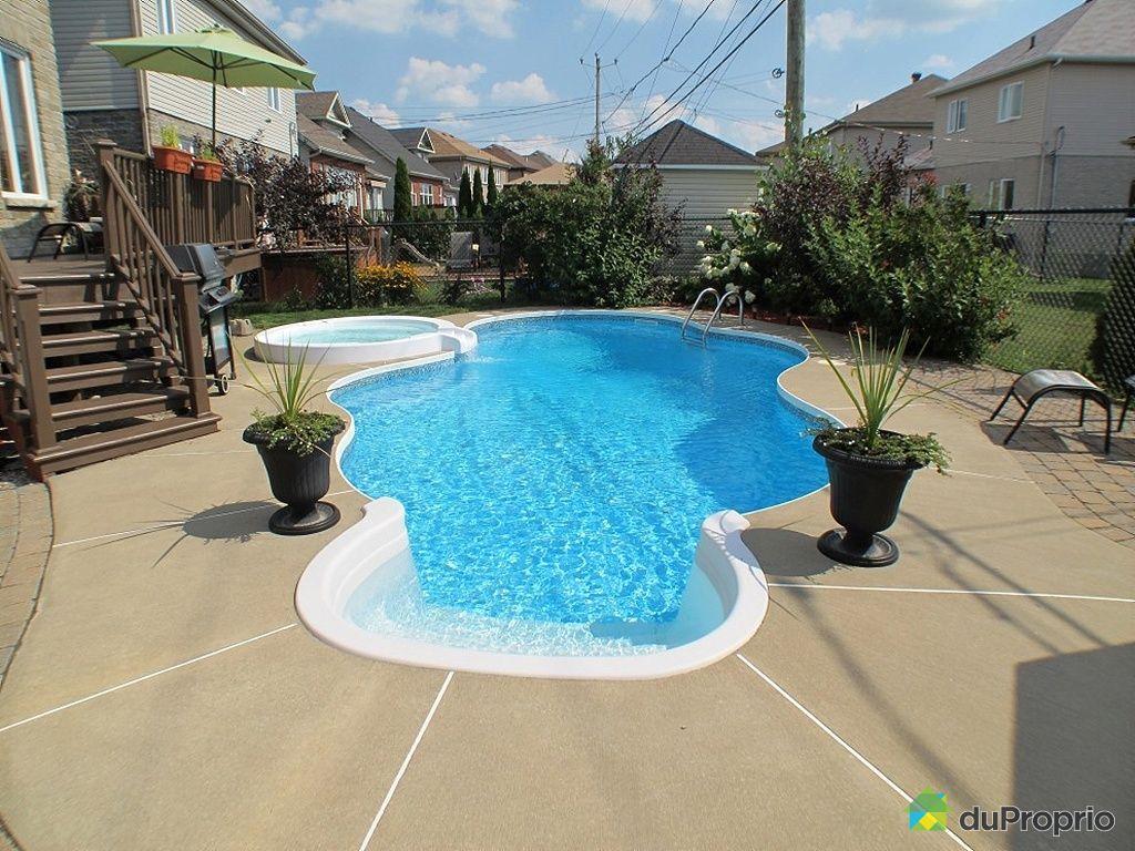 Maison vendu brossard immobilier qu bec duproprio 264235 for Brossard piscine