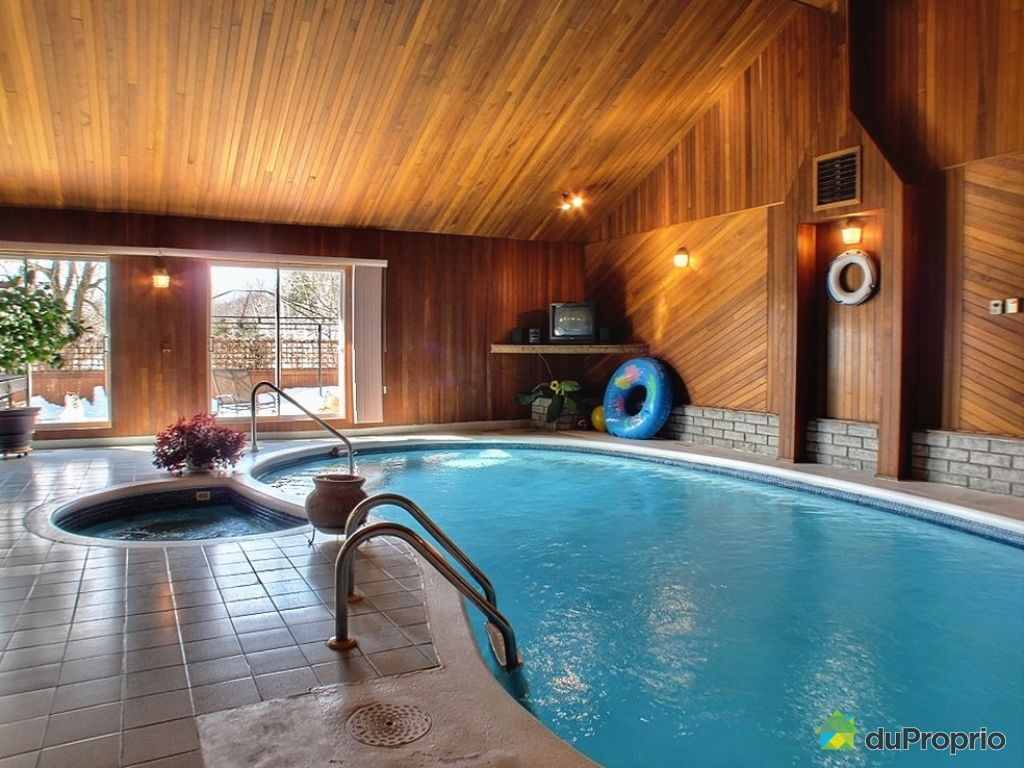 Maison avec piscine interieure a vendre quebec - Maison et spa ...