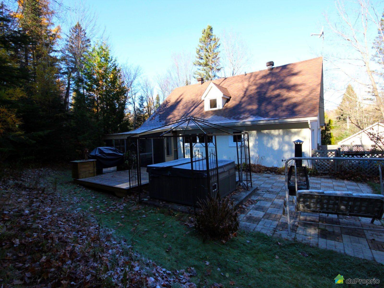 Maison vendre st sauveur 1492 chemin kilpatrick immobilier qu bec dupro - Maison a vendre a spa ...