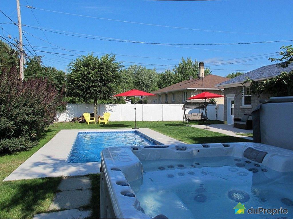Maison vendu trois rivi res immobilier qu bec duproprio for Balayeuse piscine creusee