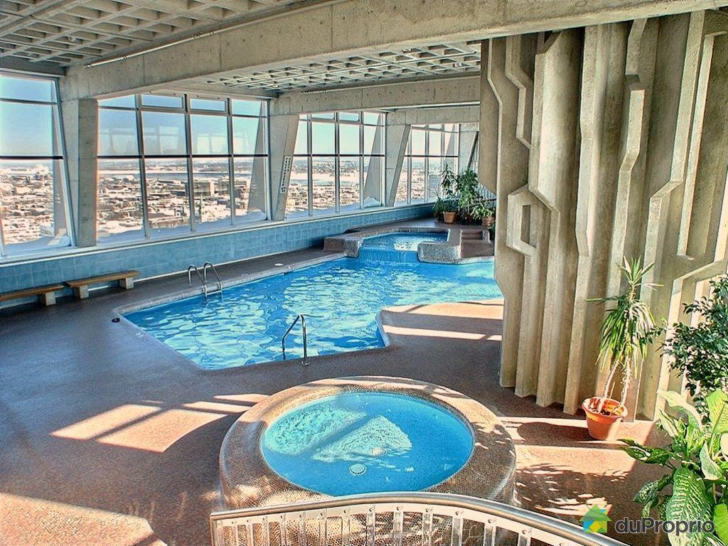 Maison a vendre avec piscine interieure quebec - Piscine centre du plateau ...