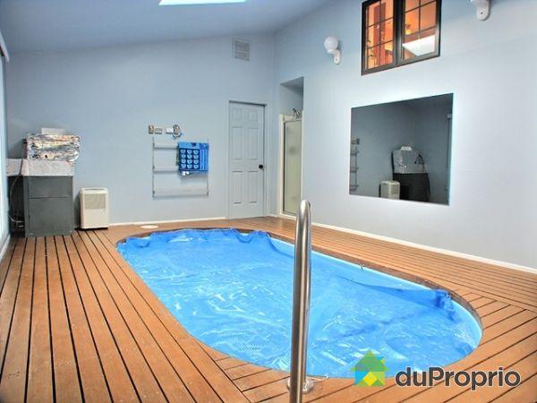 Maison a vendre avec piscine interieur - Piscine dans la maison ...