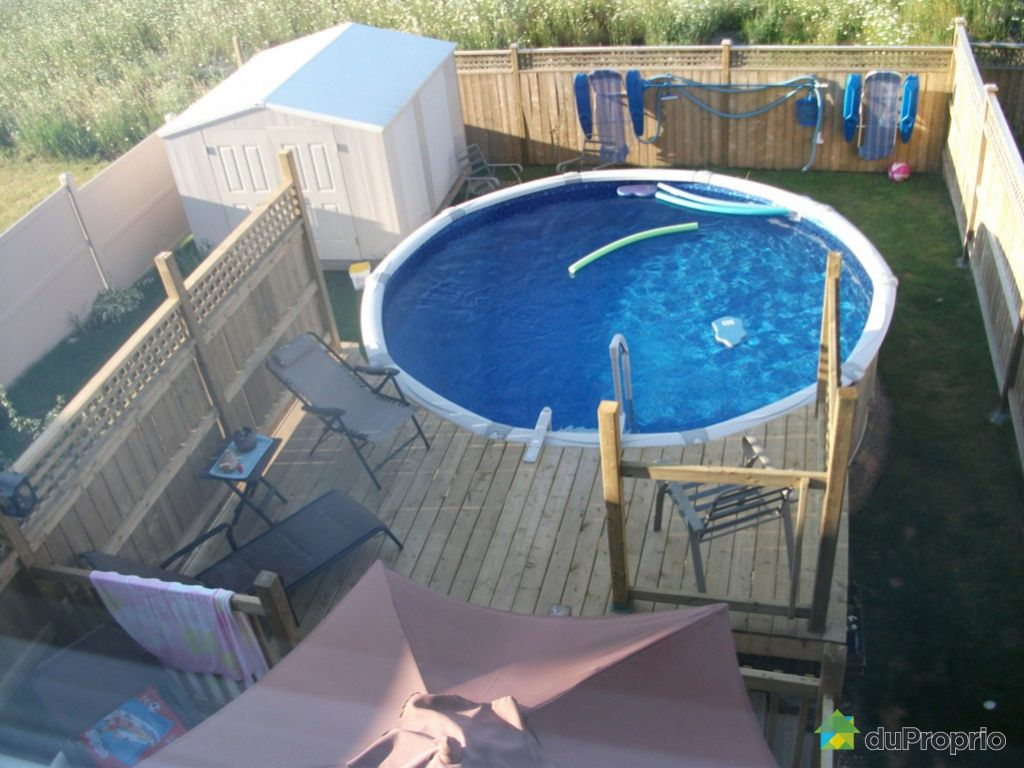 Jumel vendu aylmer immobilier qu bec duproprio 395830 for Backwash piscine hors terre