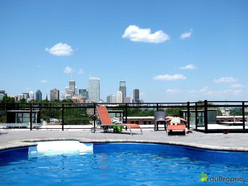 Loft vendu montr al immobilier qu bec duproprio 386604 for Club piscine rive sud montreal
