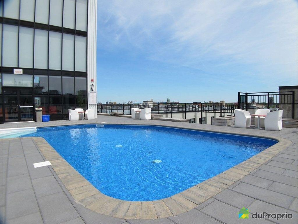 Loft vendu montr al immobilier qu bec duproprio 391652 for Club piscine rive sud montreal