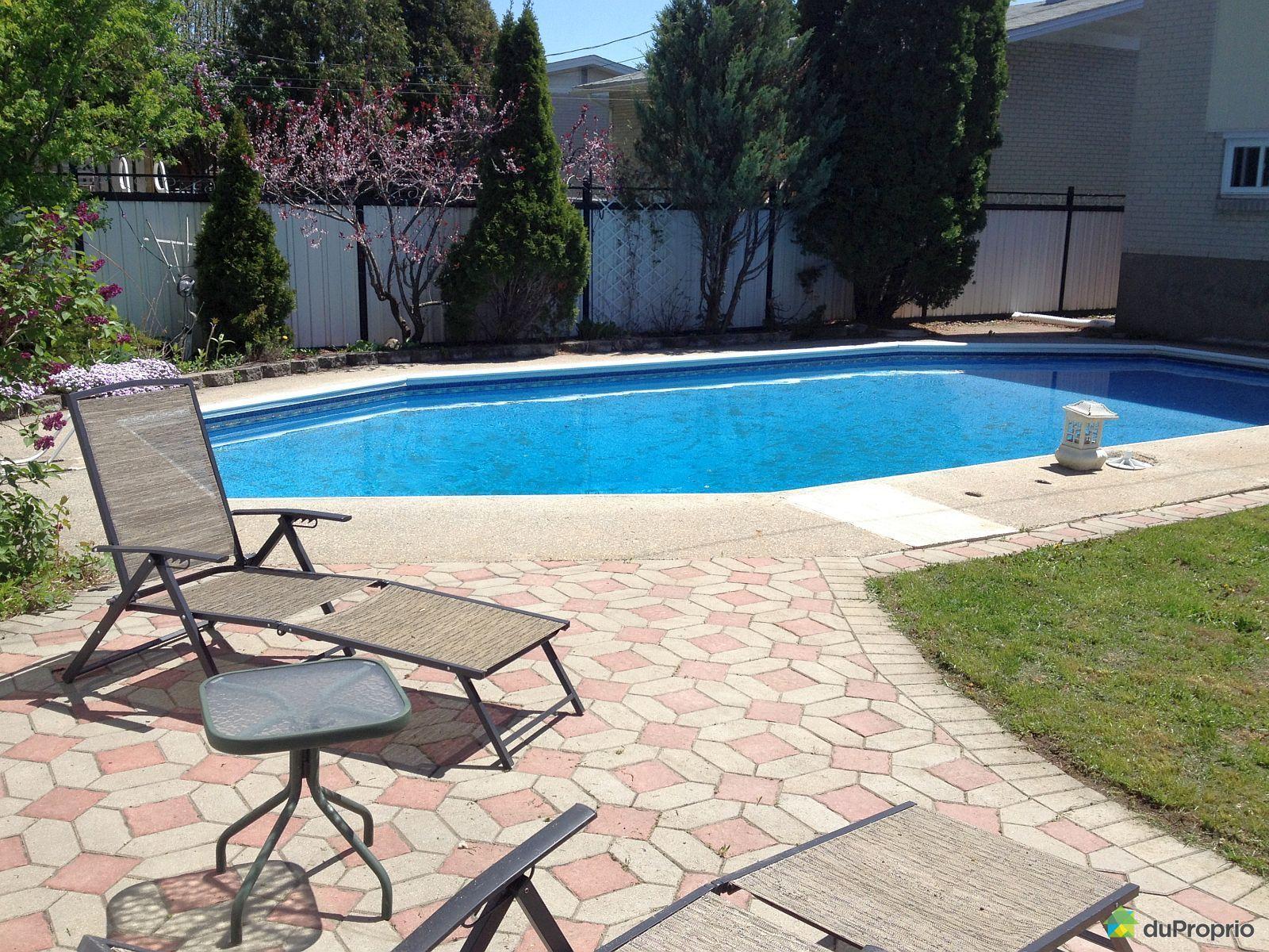 Maison vendu brossard immobilier qu bec duproprio 442460 for Brossard piscine