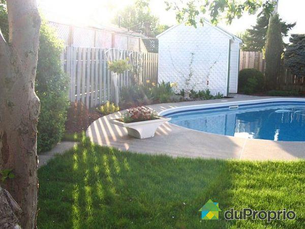 Maison vendu brossard immobilier qu bec duproprio 294191 for Brossard piscine