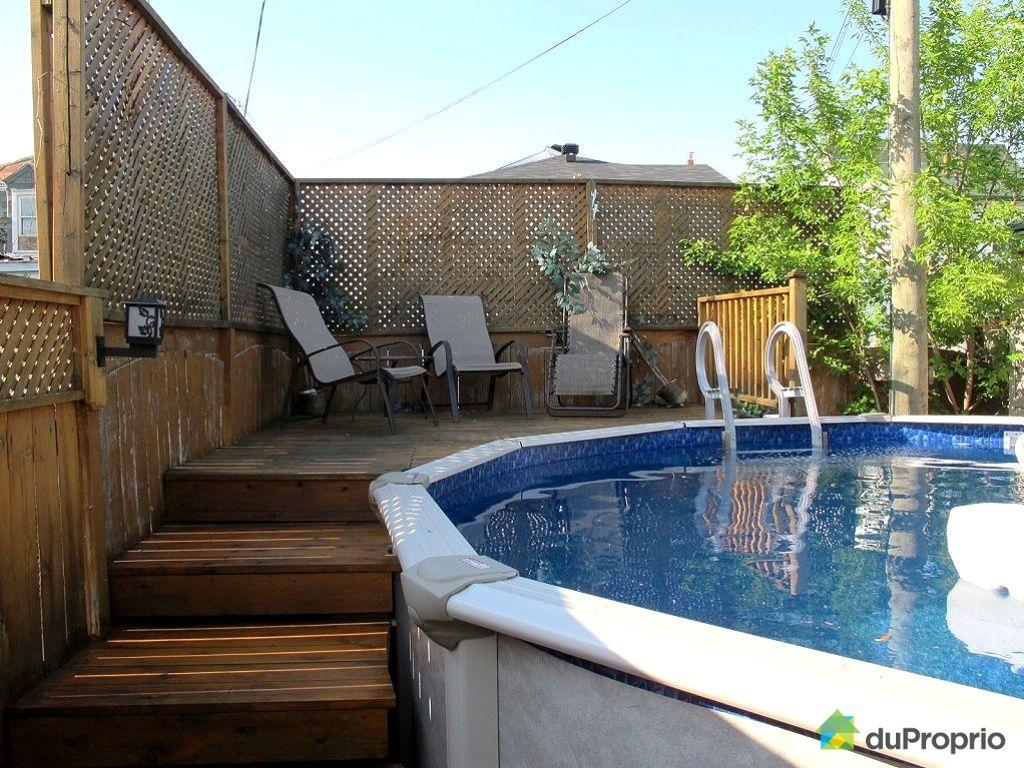 Construire patio piscine hors terre for Piscine hors terre