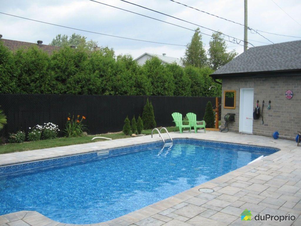 Maison vendu st hubert immobilier qu bec duproprio 404571 for Chauffage piscine quebec