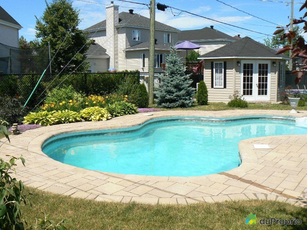 Maison vendu blainville immobilier qu bec duproprio for Acheter piscine creusee