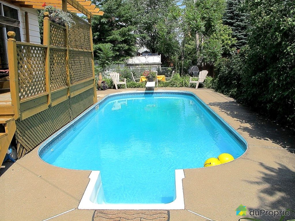Maison vendu blainville immobilier qu bec duproprio for Balayeuse piscine creusee