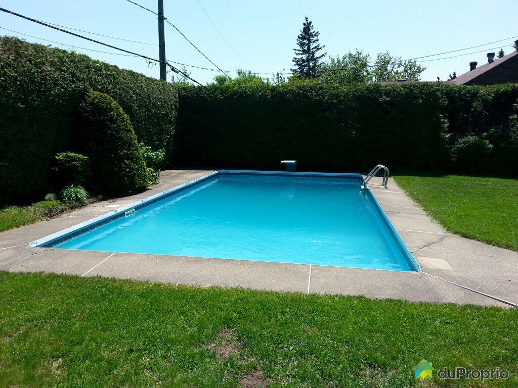 Maison vendre bois des filion 336 rue carmelle for Balayeuse automatique piscine