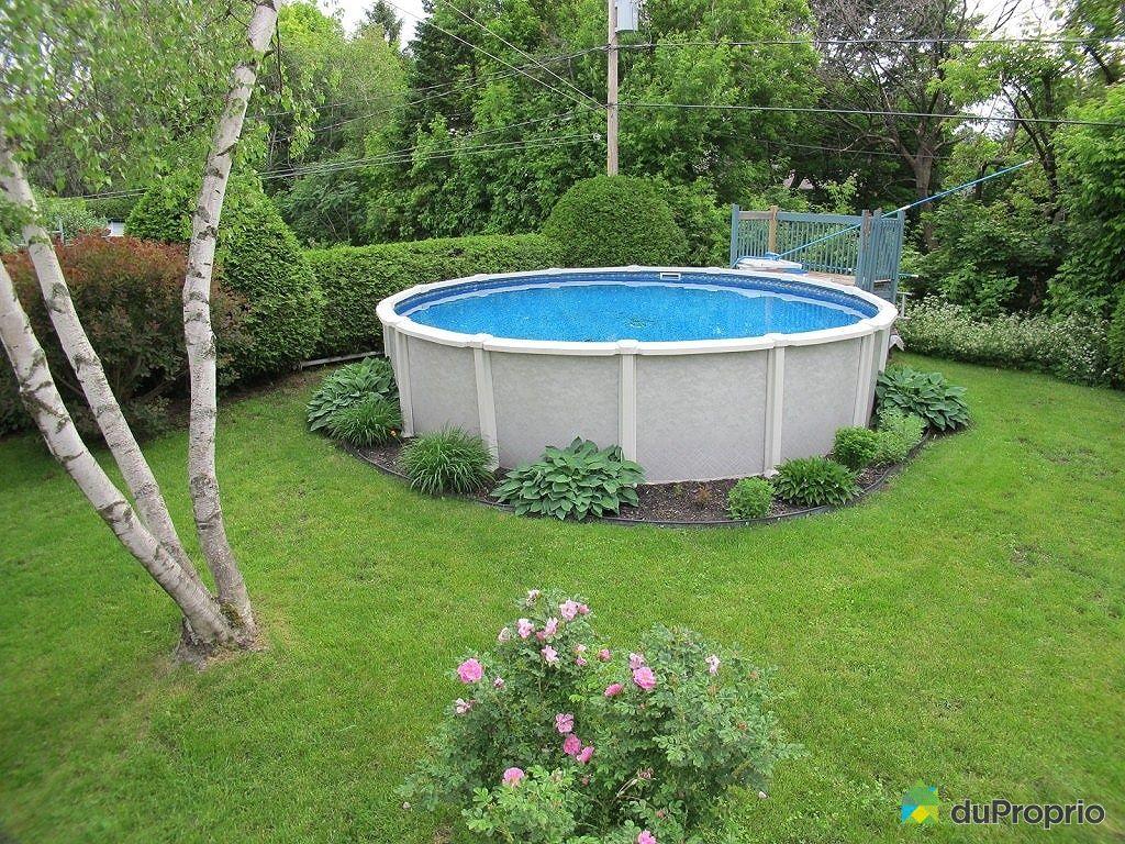 Maison vendu boucherville immobilier qu bec duproprio for Backwash piscine hors terre