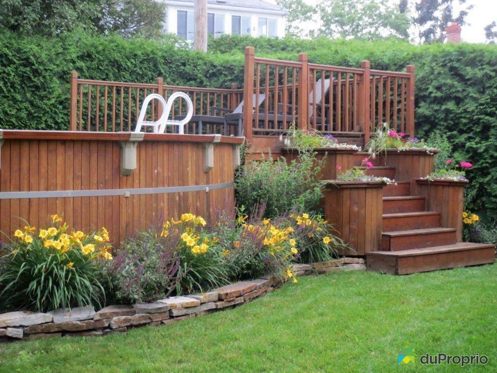 patio en bois traite a vendre diverses id es de conception de patio en bois pour. Black Bedroom Furniture Sets. Home Design Ideas