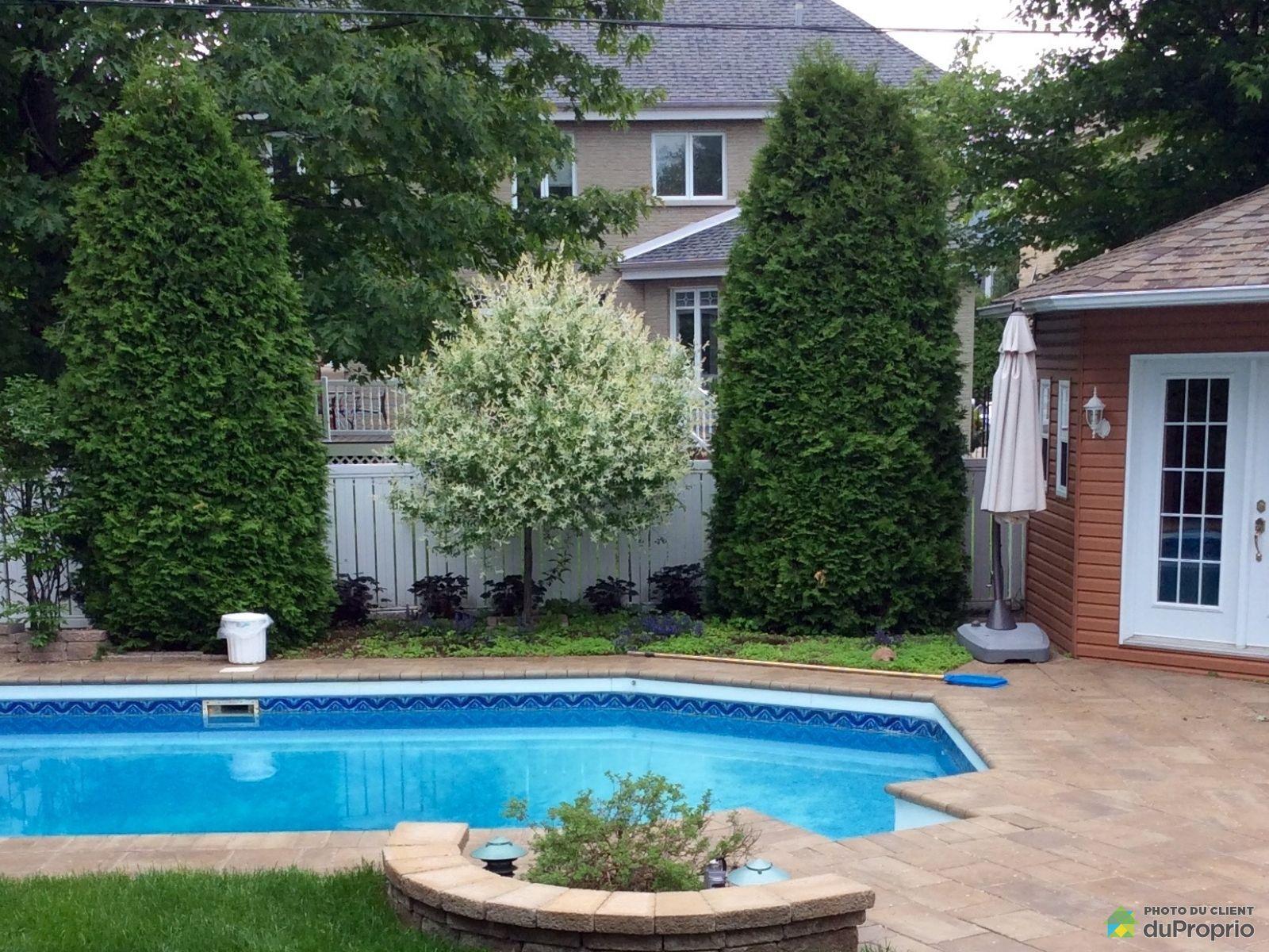 Maison vendu brossard immobilier qu bec duproprio 675402 for Brossard piscine