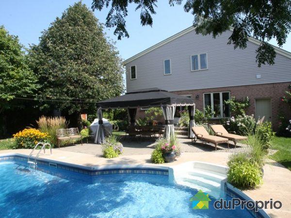 Maison vendu brossard immobilier qu bec duproprio 238294 for Brossard piscine
