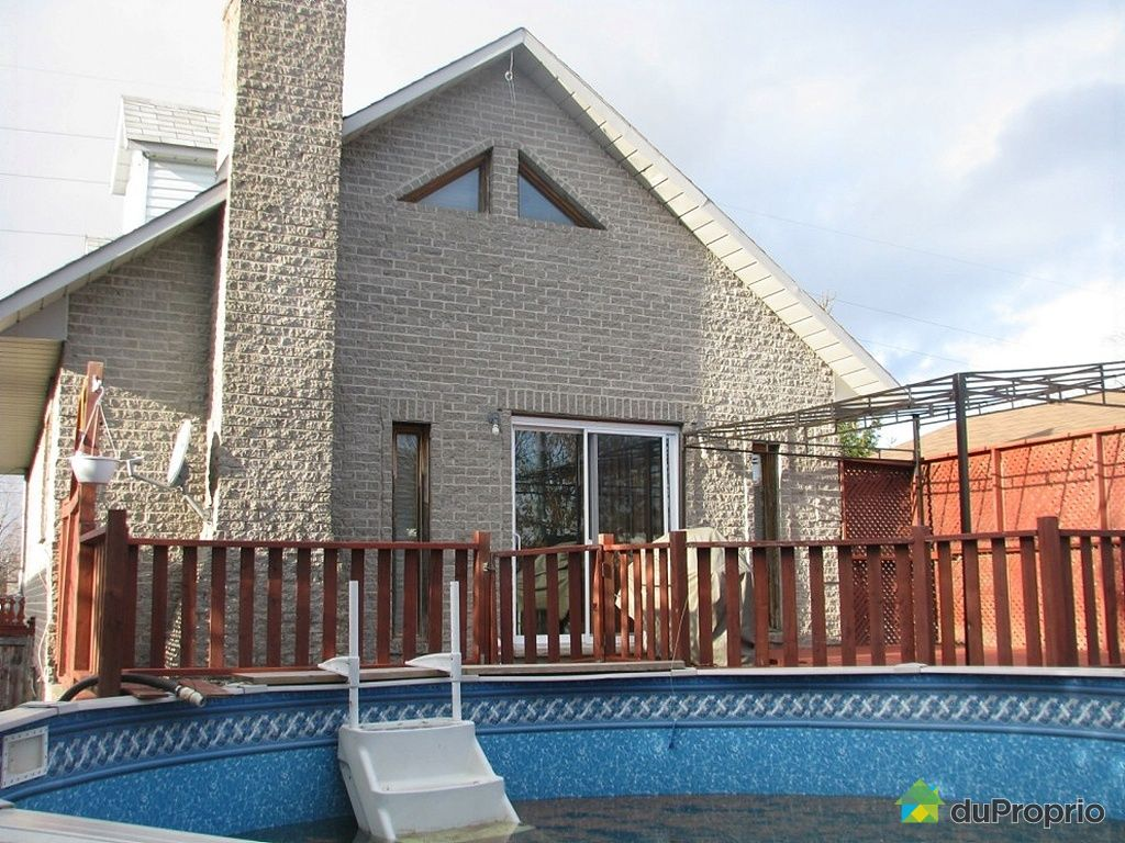 Maison vendu brossard immobilier qu bec duproprio 295897 for Brossard piscine