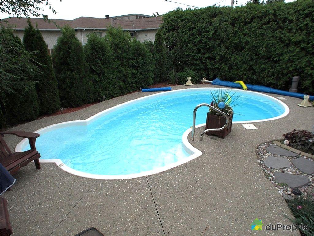 Maison vendu brossard immobilier qu bec duproprio 358152 for Brossard piscine