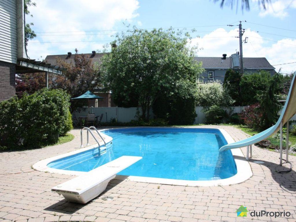 Maison vendu brossard immobilier qu bec duproprio 471643 for Brossard piscine