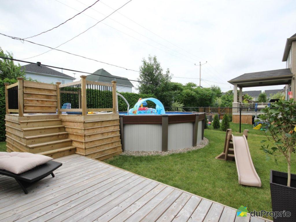 Maison vendu chambly immobilier qu bec duproprio 525769 for Backwash piscine hors terre