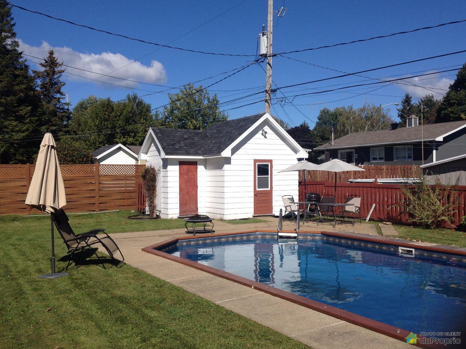 Maison vendre charlesbourg 7700 rue de nimes for Arpidrome charlesbourg piscine