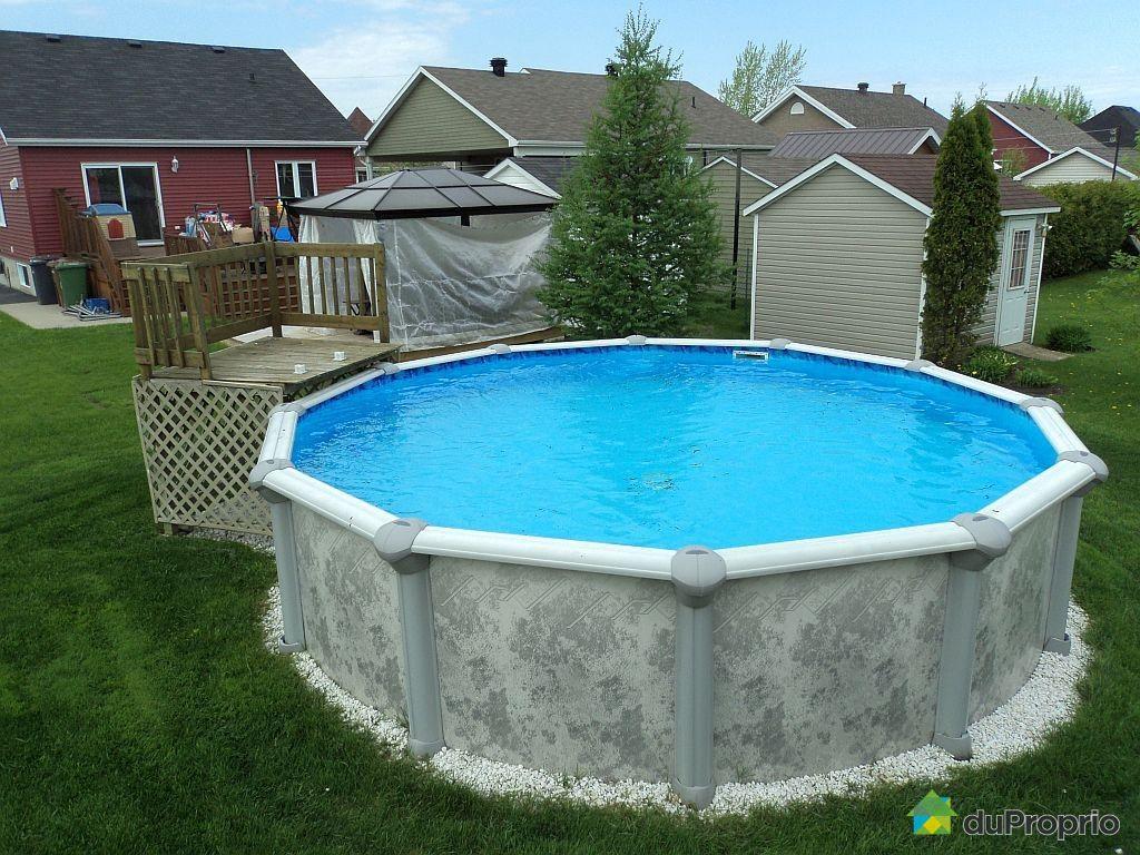 Infos sur piscine 18 pieds arts et voyages for Prix piscine hors terre 24 pieds