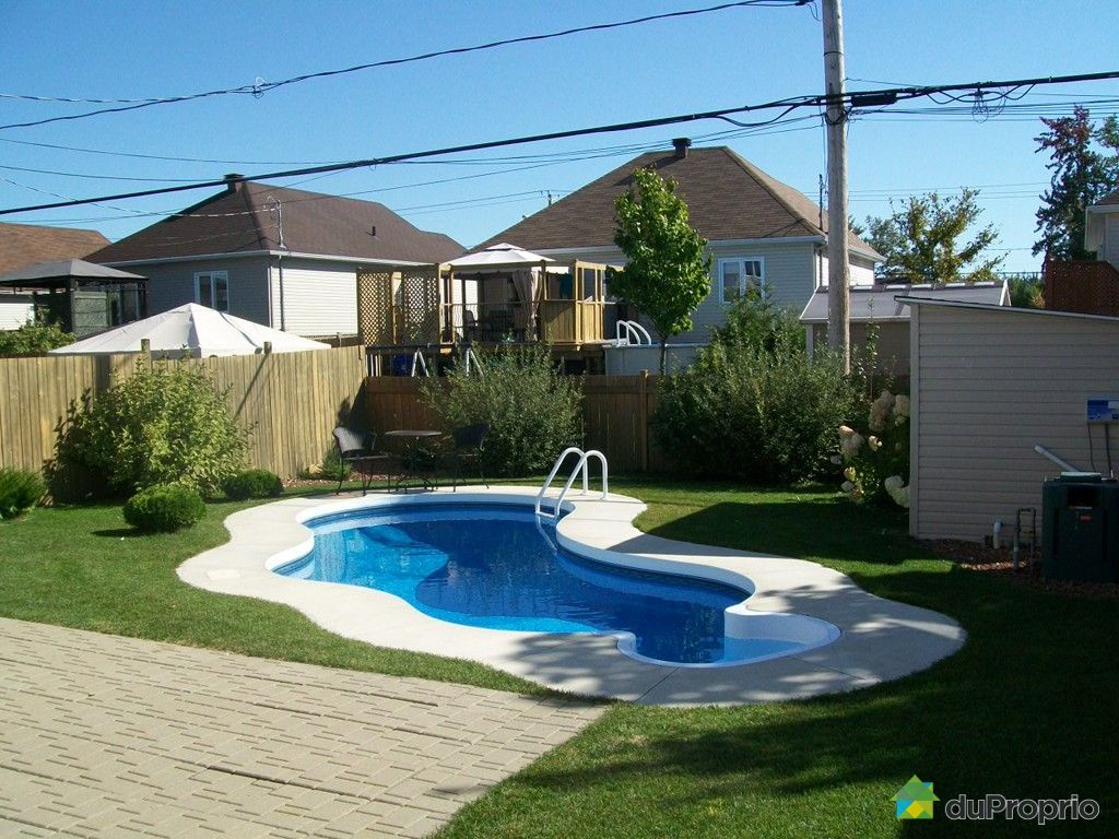 Gatineau vendre duproprio for Piscine radiant quebec