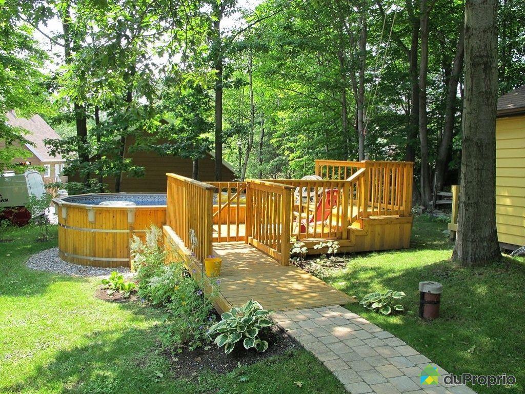 Maison vendu ile d 39 orl ans st laurent immobilier qu bec duproprio 346638 - Piscine couverte maison orleans ...