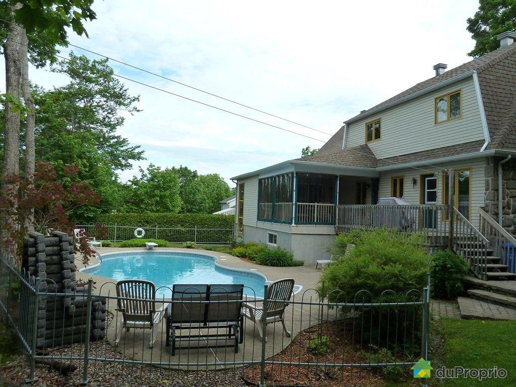 Maison vendu ile d 39 orl ans st laurent immobilier qu bec duproprio 370390 - Piscine couverte maison orleans ...
