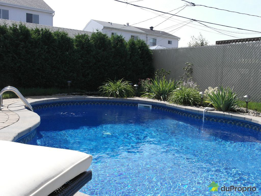 Maison vendu la plaine immobilier qu bec duproprio 586524 for Balayeuse piscine creusee