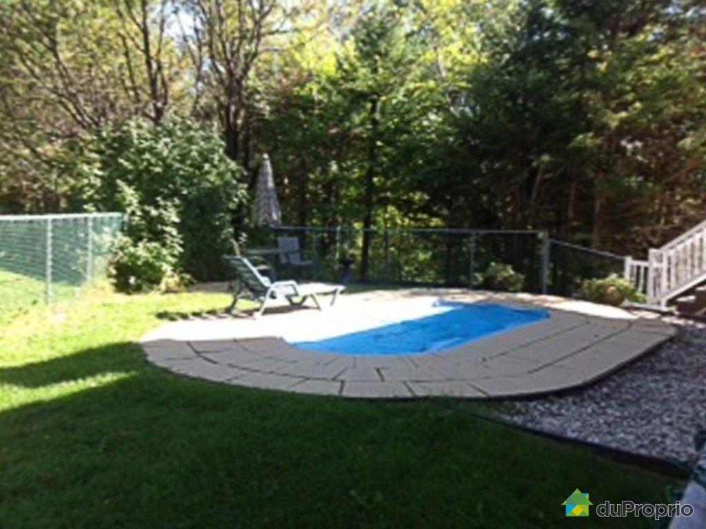 Maison vendre lac beauport 45 chemin des cr tes for Prix piscine complete