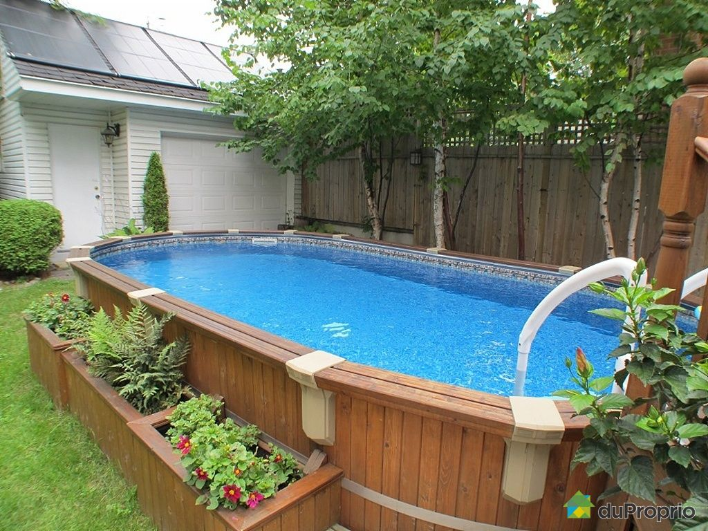 Comment installer une piscine semi enterre great comment construire sa piscine with comment - Comment construire une piscine ...