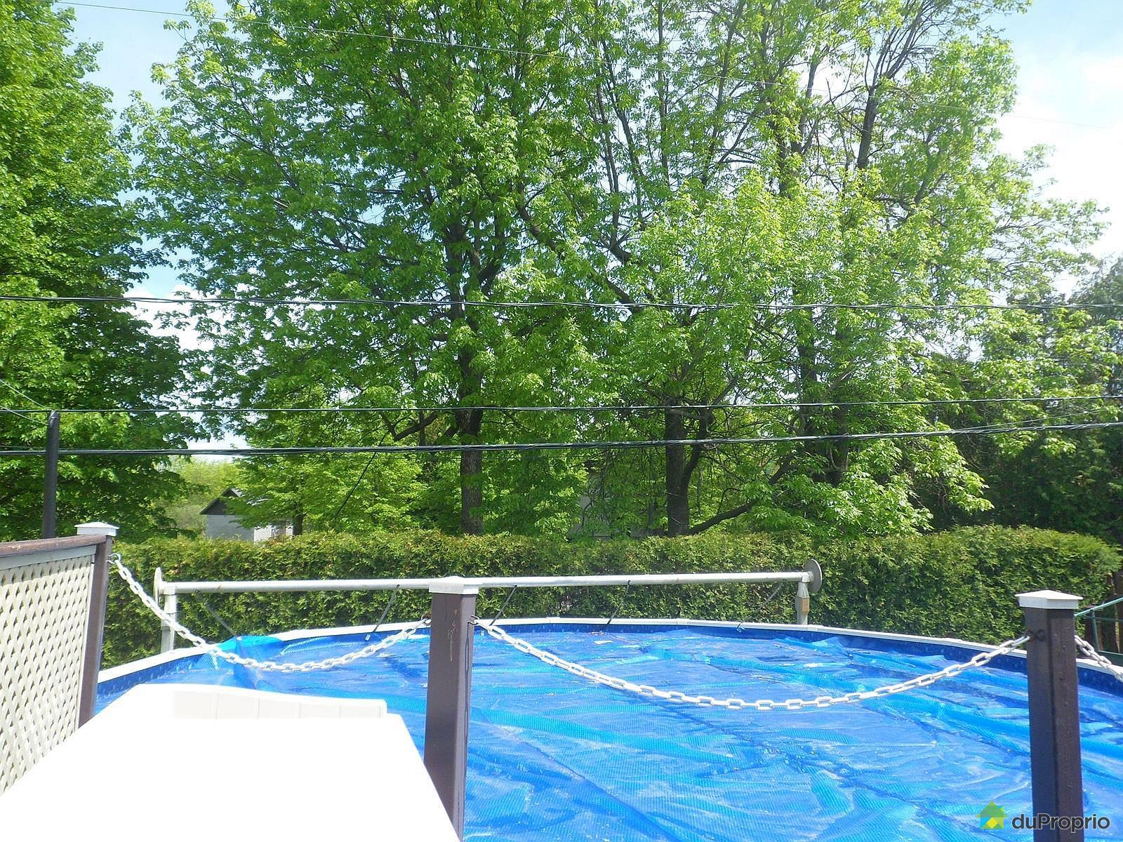 Maison vendu st constant immobilier qu bec duproprio for Balayeuse piscine