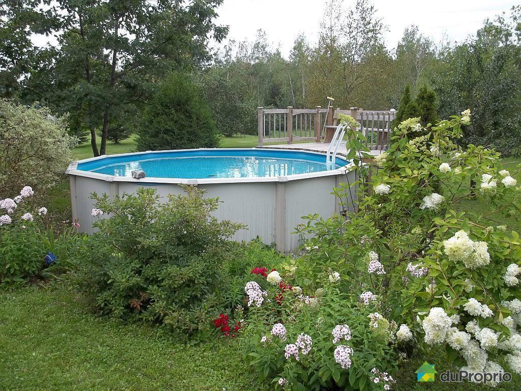 Maison vendu st eug ne de l 39 islet immobilier qu bec for Chauffage piscine quebec
