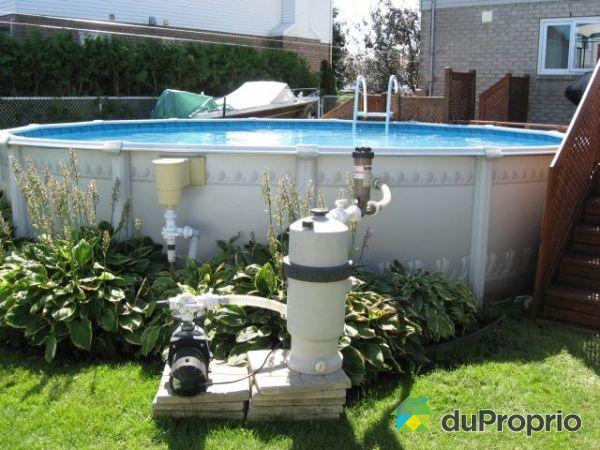 Maison vendu st hubert immobilier qu bec duproprio 220046 for Monter une piscine hors sol