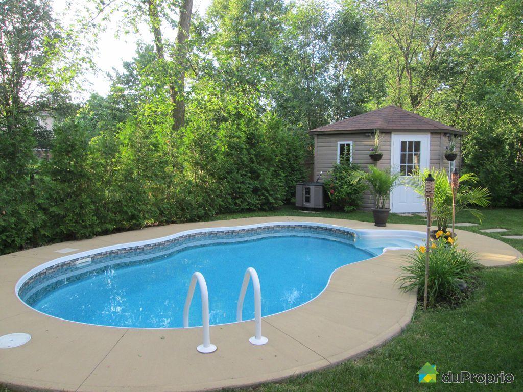 Deck de piscine st hubert pictures to pin on pinterest for Piscine quebec