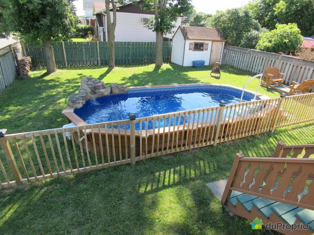Maison vendu st hubert immobilier qu bec duproprio 533414 for Cloture piscine montreal