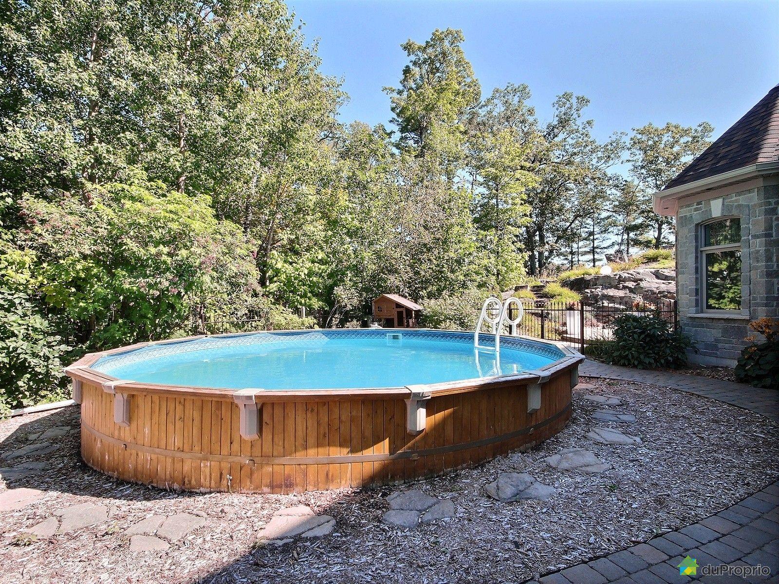 Maison vendre st jean chrysostome 859 rue de la rive for Chauffage piscine quebec