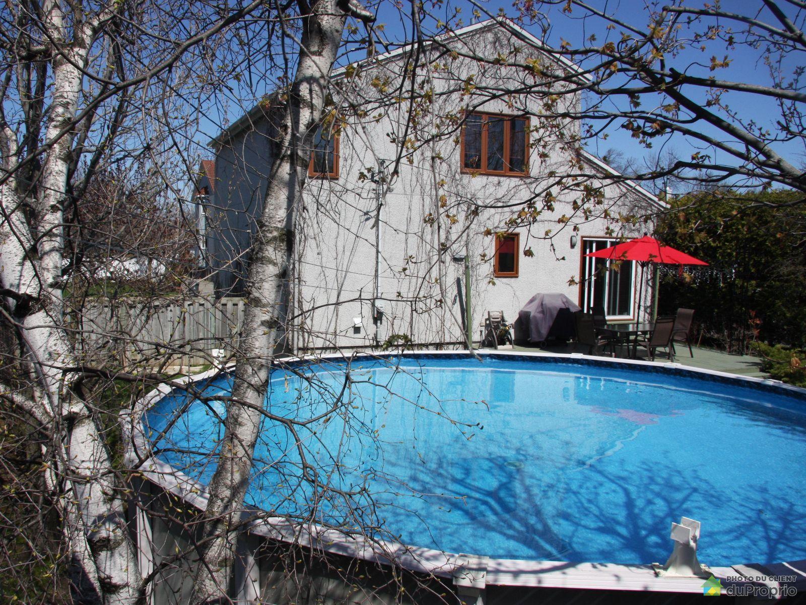 Maison vendre terrebonne 369 rue de v rone immobilier for Piscine terrebonne