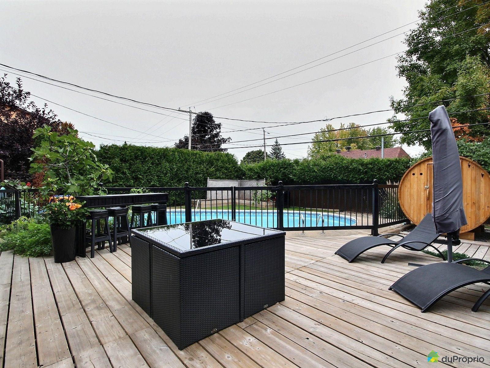 Maison vendre terrebonne 805 rue de bourg louis for Piscine terrebonne