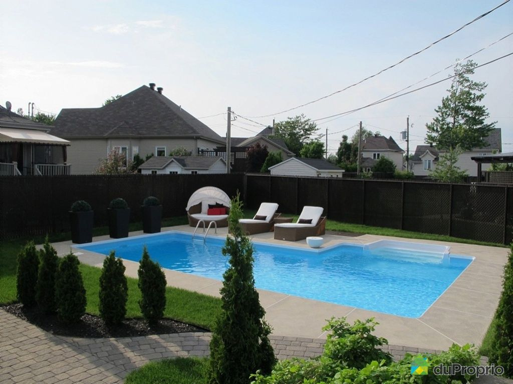 Maison vendu terrebonne immobilier qu bec duproprio for Acheter piscine creusee