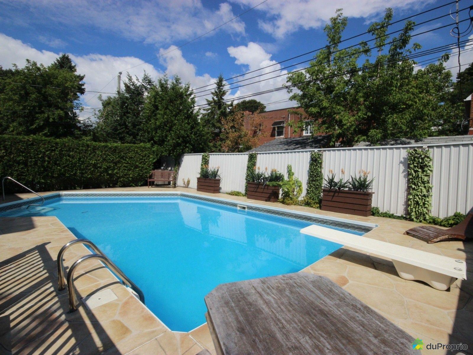 Maison vendu montr al immobilier qu bec duproprio 636231 - Piscine interieure verdun montreal toulouse ...