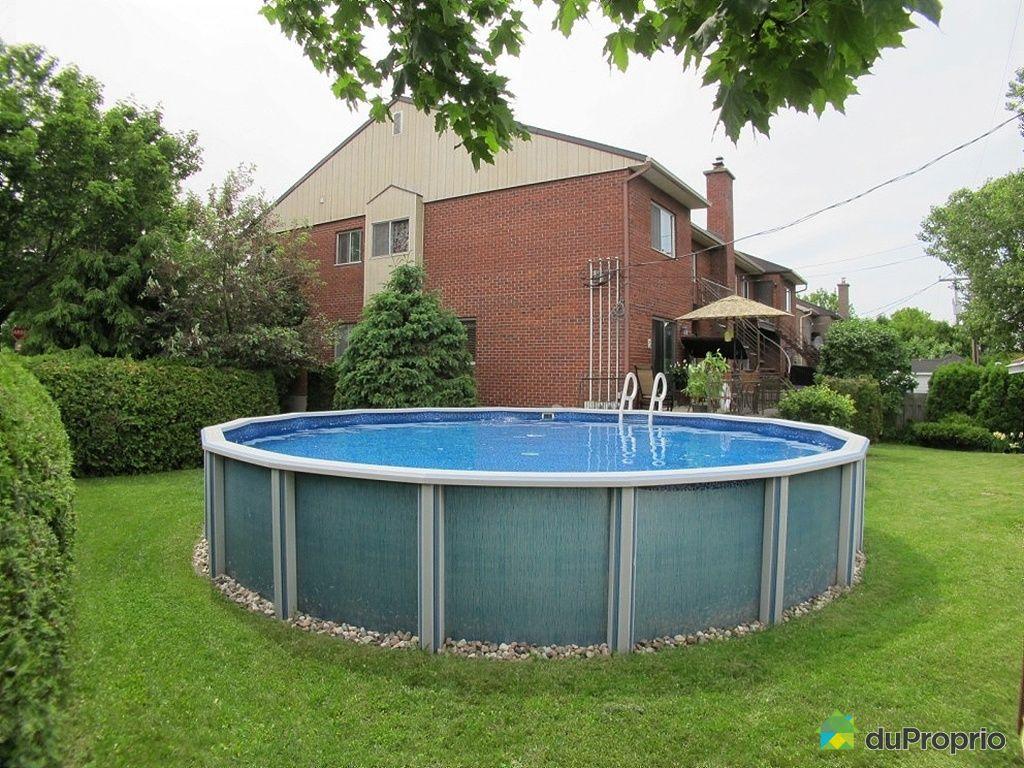 Quadruplex vendu montr al immobilier qu bec duproprio for Piscine hors sol grand format