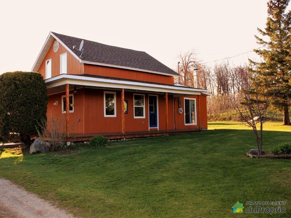 Fermette vendu lochaber immobilier qu bec duproprio - Plan de maison quebec ...