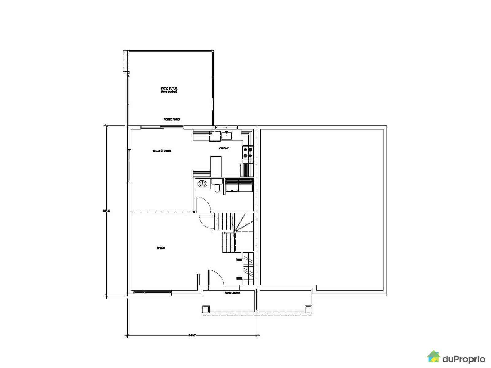 Jumel neuf vendre pintendre jumel cottage - Plan de maison quebec ...