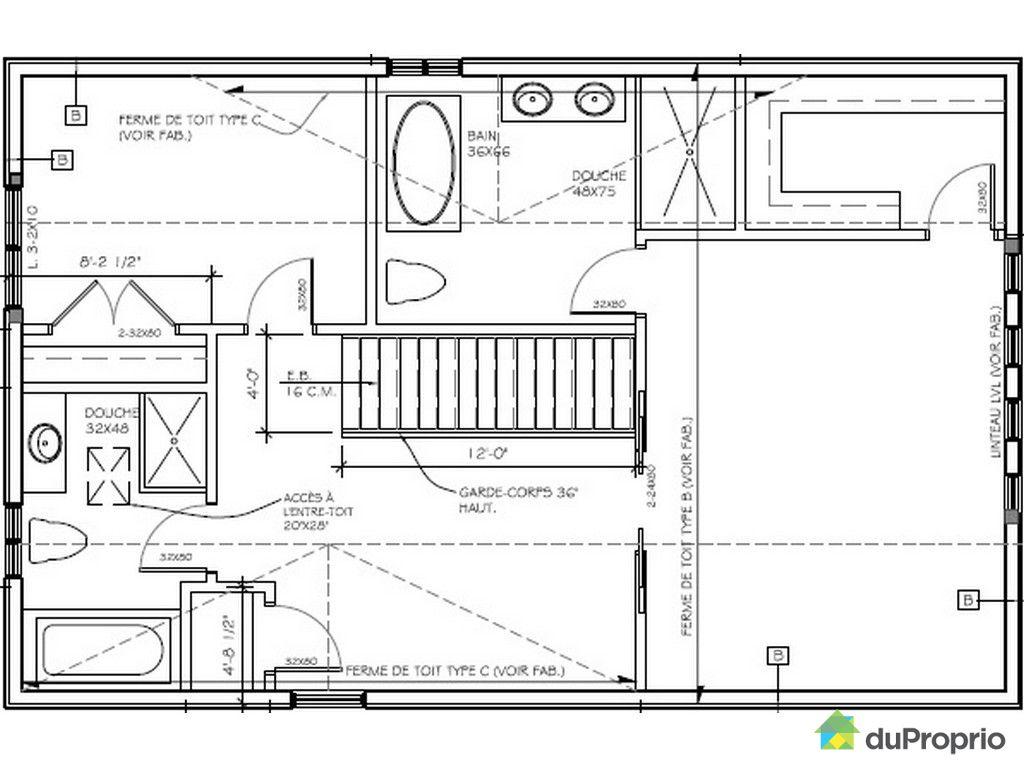 Maison vendu chelsea immobilier qu bec duproprio 331874 - Plan de maison quebec ...