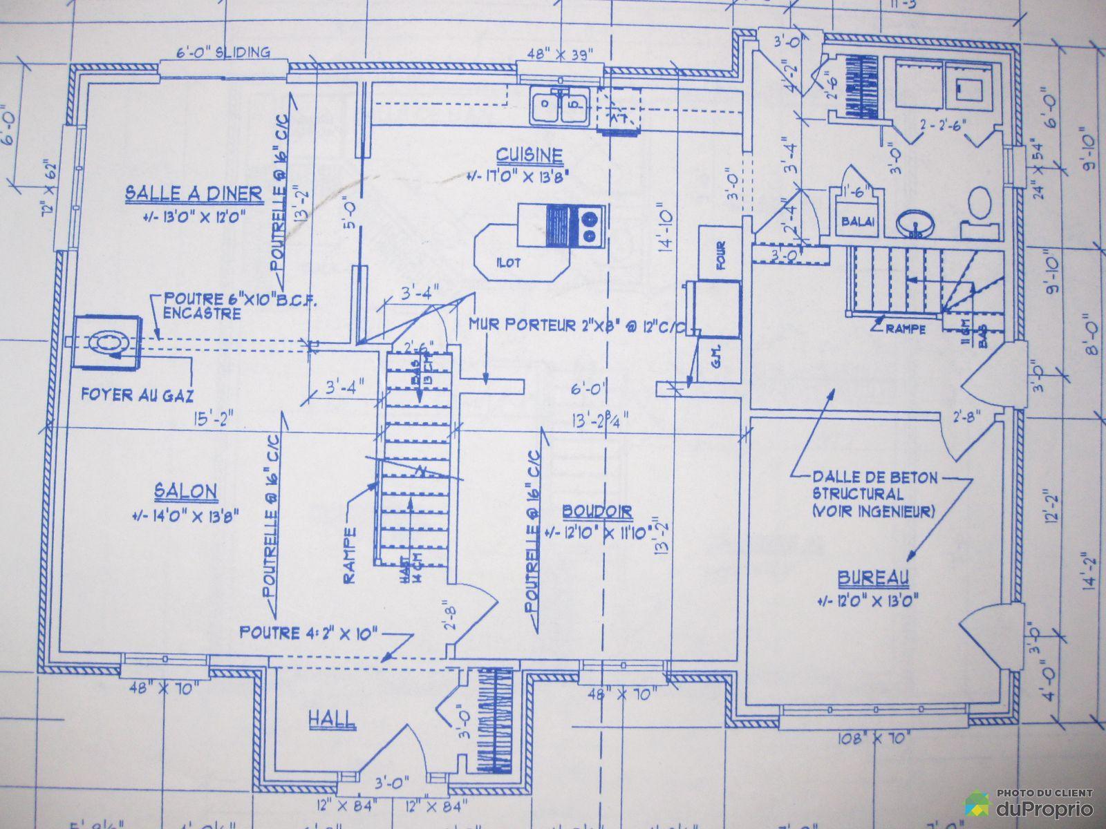 Maison vendu l 39 ancienne lorette immobilier qu bec - Plan de maison quebec ...