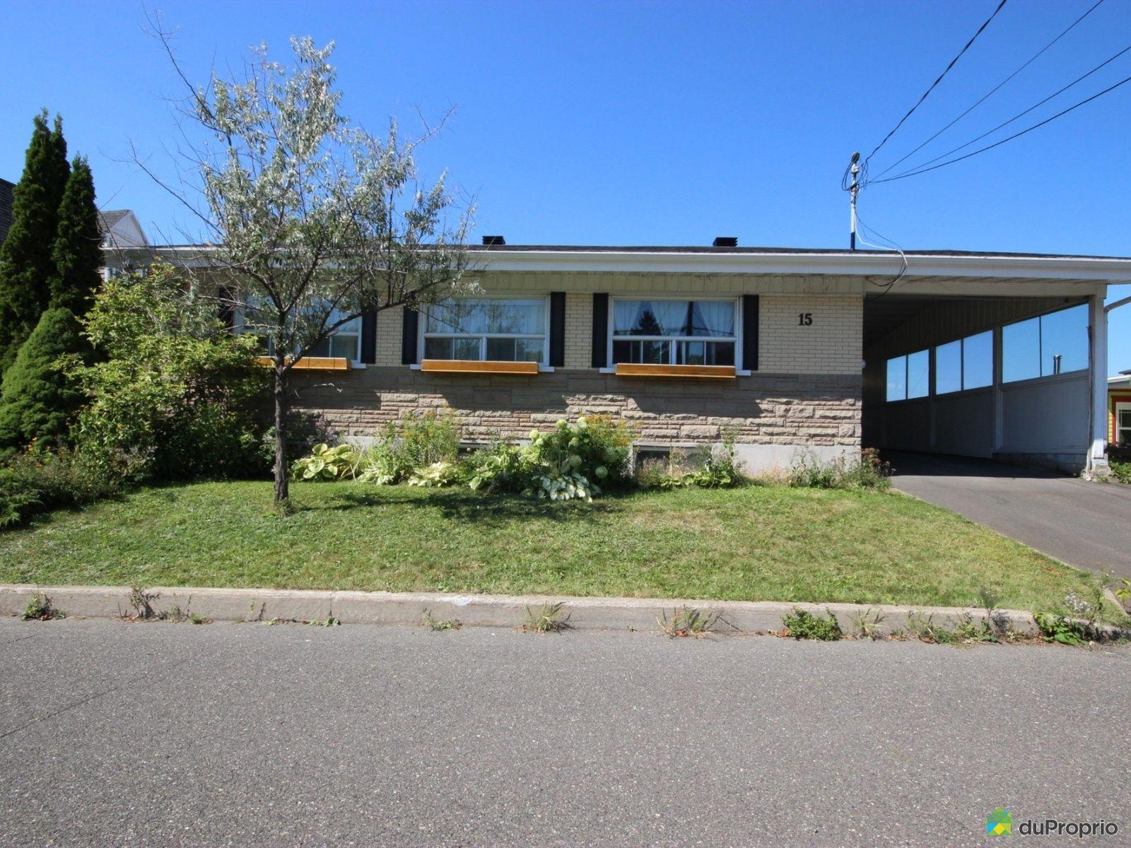Maison vendre l vis 15 rue vaudreuil immobilier qu bec - Plan de maison quebec ...