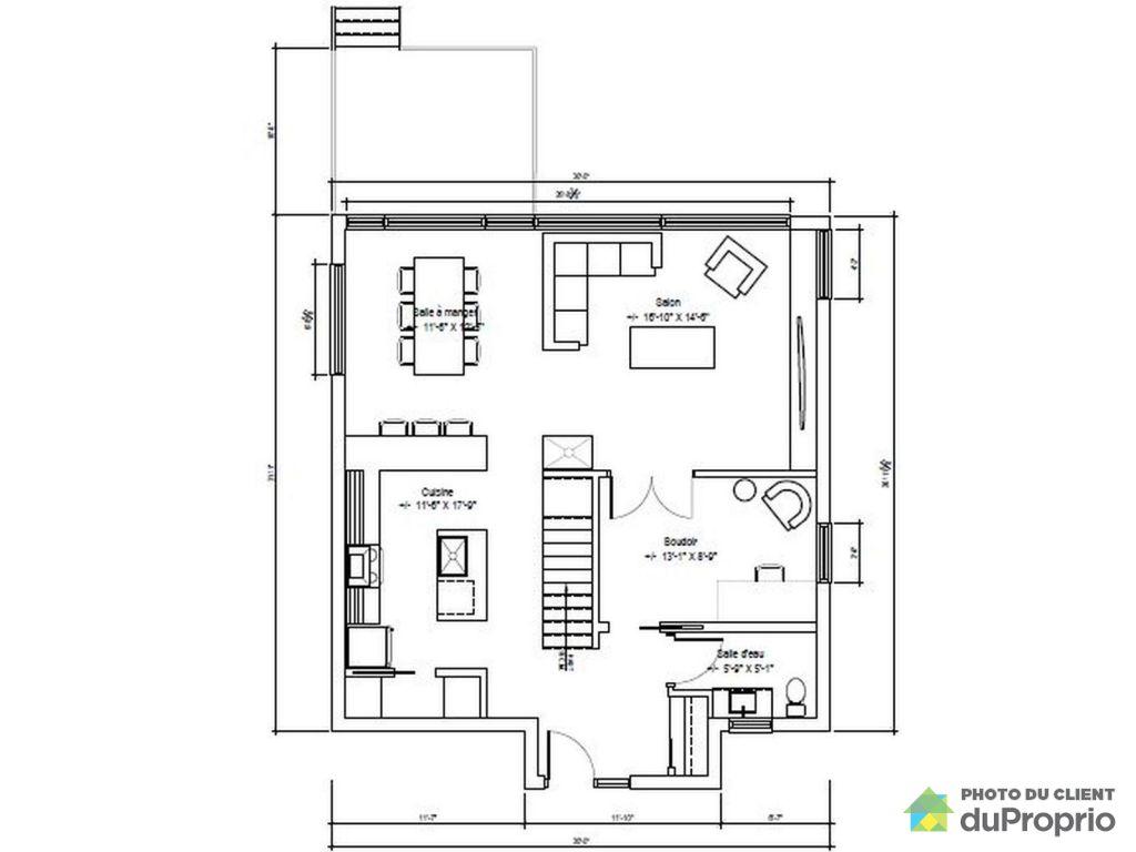 Maison neuve plan beautiful maison neuve plan with maison for Plan de maison neuve