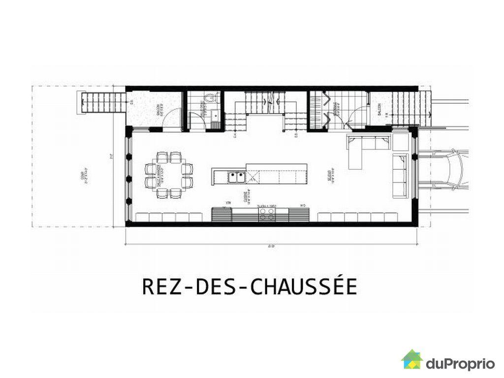 plan maison 6x8